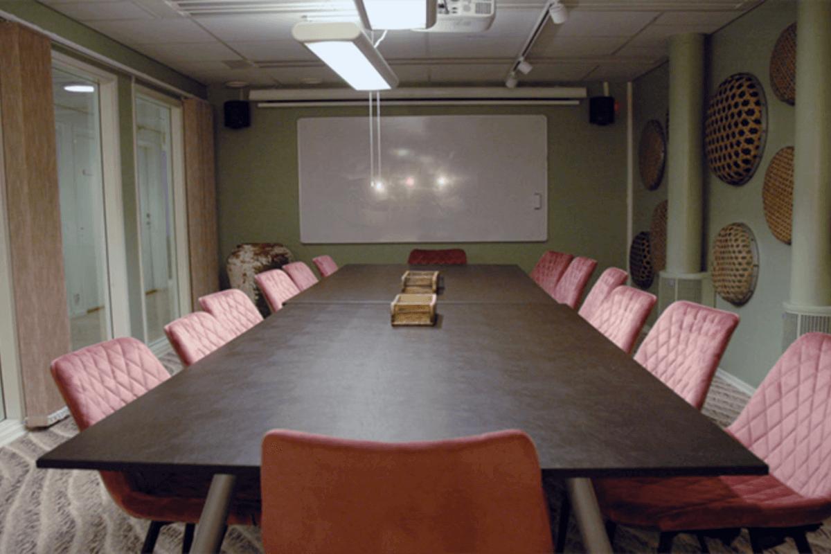 Ett av konferensrummen