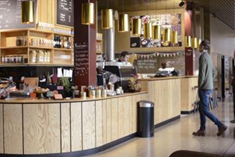 coronet kaffe plats